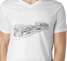 Slums Mens V-Neck T-Shirt