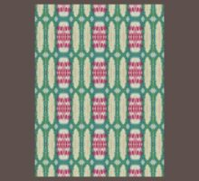 pink and green ovals One Piece - Short Sleeve
