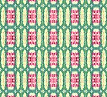 pink and green ovals by purplestgirl