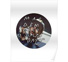 Mac Demarco - Salad days logo Poster