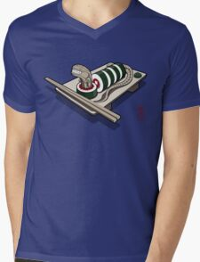 Xenomaki Mens V-Neck T-Shirt