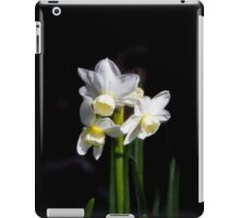 Pretty in White iPad Case/Skin