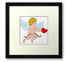 Cupid arrows Framed Print