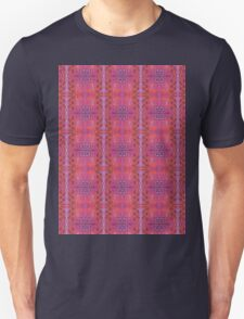 purple and blue square spirals Unisex T-Shirt