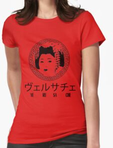 Japanese Versace Womens Fitted T-Shirt