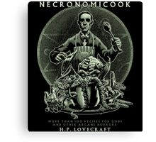 Necronomicook Canvas Print