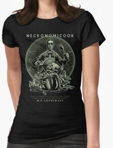 Necronomicook Womens Fitted T-Shirt