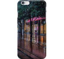 Powell Street, Rain iPhone Case/Skin