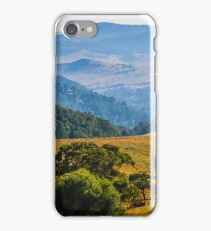 Leaving Omeo. iPhone Case/Skin
