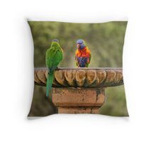 Any splashing and you will be asked to leave the pool..! Throw Pillow