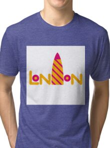 London 2 Tri-blend T-Shirt