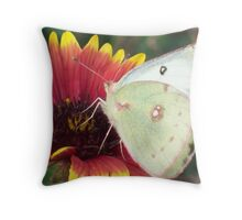 Into the Flower One  Throw Pillow