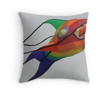 flying fish Throw Pillow