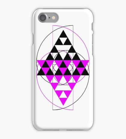 Golden Pyramids F iPhone Case/Skin