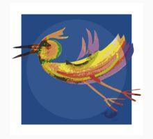 Rainbow bird Kids Tee