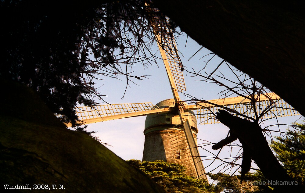 Windmill from Rear by Tomoe Nakamura
