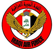Emblem of the Iraqi Air Force  Photographic Print
