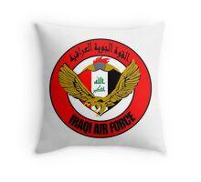 Emblem of the Iraqi Air Force  Throw Pillow