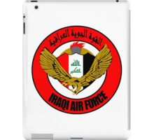Emblem of the Iraqi Air Force  iPad Case/Skin