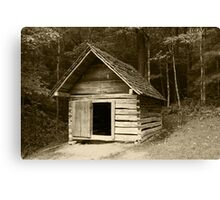Henry's Smokehouse II Canvas Print
