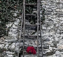 red gloves by Joana Kruse
