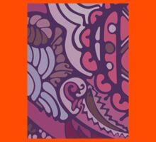 Purple pattern Kids Clothes