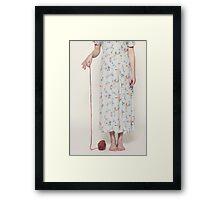 wool Framed Print