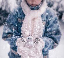 snowman by Joana Kruse