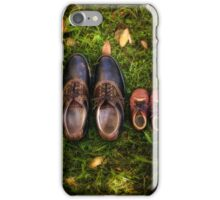 father and child iPhone Case/Skin
