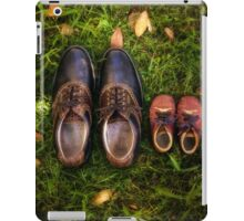 father and child iPad Case/Skin