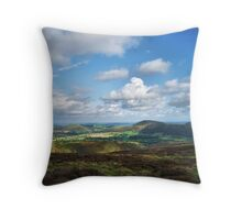 A View Of Shropshire Throw Pillow