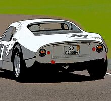 1964 Porsche Carrera 904 GTS by Paul Bailey
