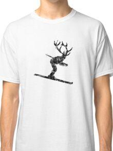 Ski Stag Skier Vintage Classic T-Shirt