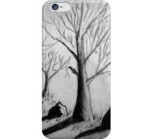 Barren Trees iPhone Case/Skin