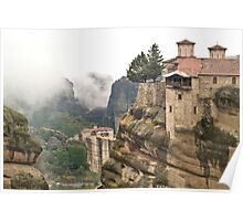 Meteora - In the Clouds Poster