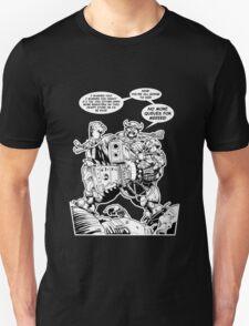 Unhappy Shopper With Speech Bubbles T-Shirt