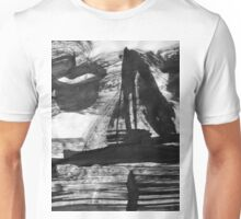 he was from a ship in the night...now gone Unisex T-Shirt