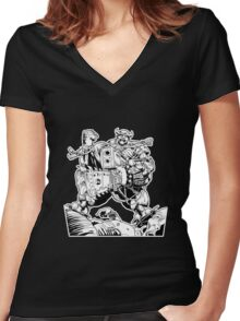 Unhappy Shopper Women's Fitted V-Neck T-Shirt