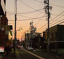 Sunset in Nagoya #1 by frommyhorizon