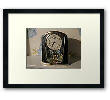 Time Marches On Framed Print