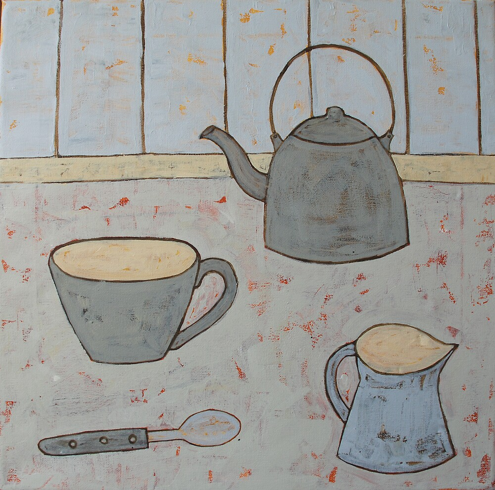A cup of strong tea  by natasa sears