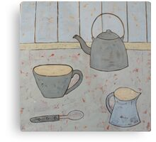 A cup of strong tea  Metal Print