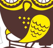 Owl. Have a good day. Sticker