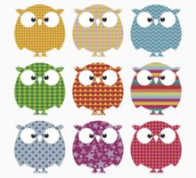 Color owls by frail