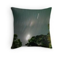 Stary moon Throw Pillow