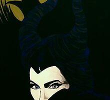 Maleficent by Mikayla Dawson