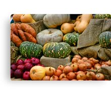 Royal Adelaide Show 2008 - Vegetables Canvas Print