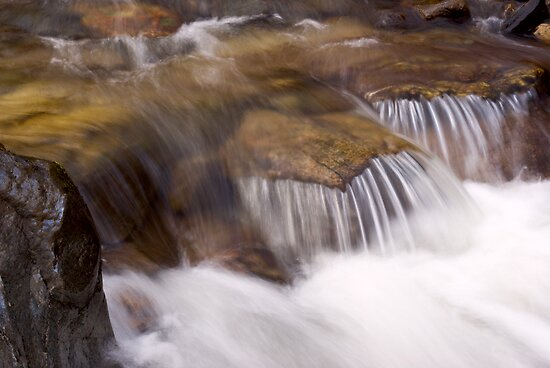 Small Waterfall by Tim Haynes