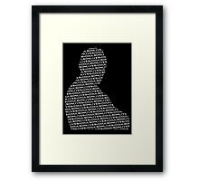 #CoulsonLives - Light on Dark Framed Print