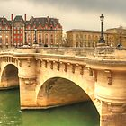 Pont Neuf & a beautiful Paris building by Michael Matthews